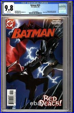 Batman 635 CGC 9.8 White 1st Appearance of Jason Todd as Red Hood