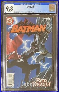 Batman #635 CGC 9.8 White Pages 1st Appearance Jason Todd as Red Hood DC 2005