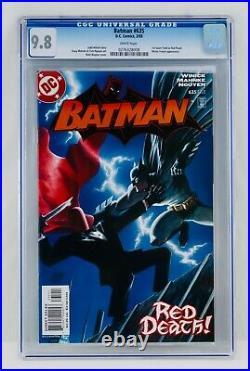 Batman #635 CGC 9.8 White Pages First Jason Todd / Red Hood Appearance 1st App