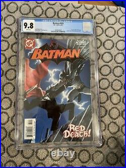 Batman 635 CGC 9.8 White Pages first appearance Of Red hood Key issue