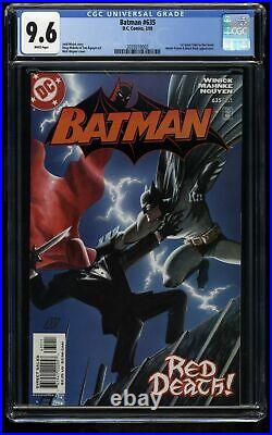 Batman #635 CGC NM+ 9.6 White Pages 1st Jason Todd as the Red Hood