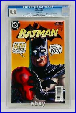 Batman #638 CGC 9.8 White Pages Red Hood Revealed As Jason Todd Key Grail NM/MT