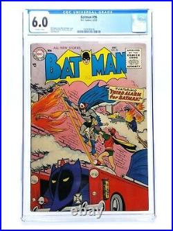 Batman 96 CGC 6.0 Off-White Pages 1955