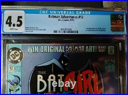 Batman Adventures #12 1st App. Harley Quinn CGC 4.5 White Pages