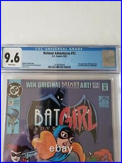 Batman Adventures #12 CGC Graded 9.6 White Pages DC Comic 1st Harley Quinn