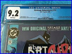 Batman Adventures #12 DC CGC 9.2 White Pages 1st Harley Quinn
