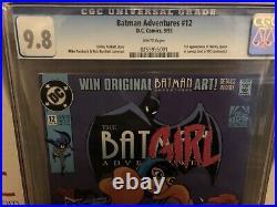 Batman Adventures 12 cgc 9.8 White Pages