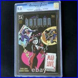 Batman Adventures Mad Love #1 CGC 9.8 White Pgs Harley Quinn Comic DC 1994