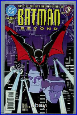 Batman Beyond #1 (1999) DC CGC 9.6 White Pages 1st Terry McGinnis