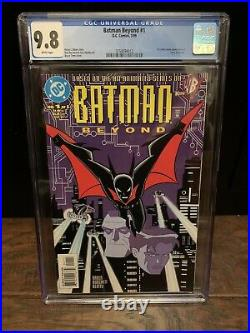 Batman Beyond #1 CGC 9.8 White Pages 1st Appearance Terry McGinnis 3759094012