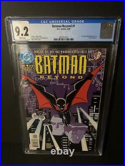 Batman Beyond #1 Cgc 9.2 1st Terry Mcginnis 1999 White Pages