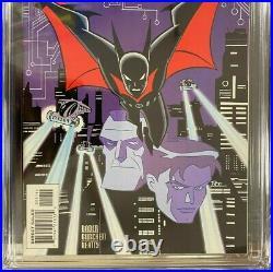 Batman Beyond 1 Cgc 9.6 1st Comic App Terry Mcginnis White Pages 1999