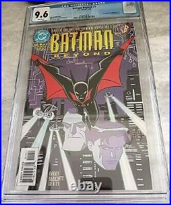 Batman Beyond #1 (DC 1999) CGC 9.6 White Pages Clean Case NICE