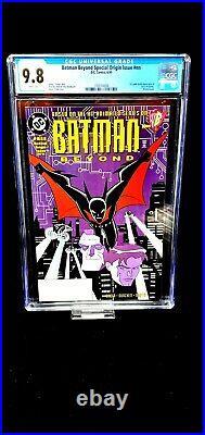 Batman Beyond #1 Special Origin CGC 9.8 White Pages