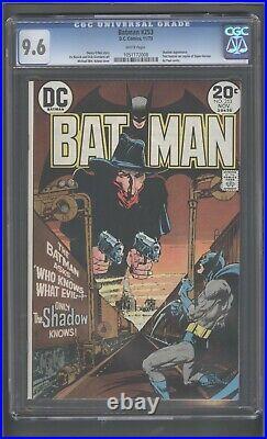 Batman Comics #253 CGC 9.6 The Shadow! White Pages