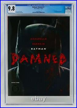 Batman Damned #1 CGC 9.8 White Pages First DC Black Label Title Key Comic NM/MT