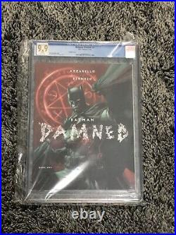 Batman Damned #1 Cgc Graded 9.9 Mint White Pages 2018 Jim Lee Variant Cover
