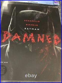 Batman Damned #1 First Print DC Comics CGC 10 Gem Mint White Pages