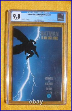 Batman Dark Knight Returns 1 DC 1st Carrie Kelly (Robin) CGC 9.8 White Pages