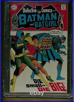 Batman Detective Comics #385 Cgc 9.4 1969 White Pages Neal Adams Batgirl Story