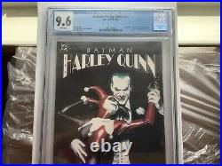 Batman Harley Quinn 1999 1st print CGC Graded 9.6 White pages 1st App in DCU