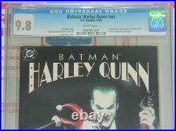 Batman Harley Quinn #nn Cgc 9.8 Nm/mt White Pages