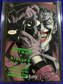 Batman Killing Joke CGC 9.8 NM/MT WHITE Pages PERFECT COPY 1st Printing