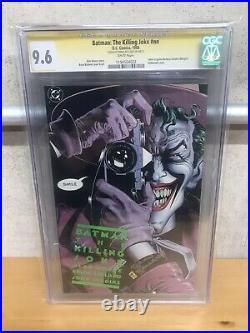 Batman Killing Joke Cgc 9.6 White Ss Bolland DC Netflix Movie Alan Moore