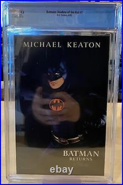 Batman Shadow Of The Bat 1992 #1 / Cgc 9.8 Nm/mt White Pages
