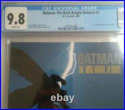 Batman The Dark Knight Returns #1 1st Print CGC 9.8 White Pages Frank Miller