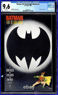 Batman The Dark Knight Returns #1 2, 3, 4 First Print Cgc 9.6 White Page Set 2