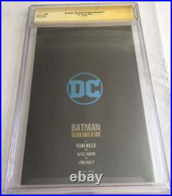 Batman The Dark Knight Returns #1 Cgc 9.8 White Pages Foil Edition