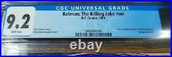 Batman The Killing Joke (1988) CGC 9.2 Neon Green First Printing, White Pages