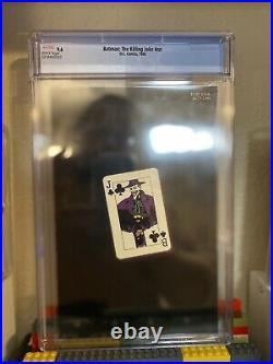 Batman The Killing Joke 1st Print CGC 9.6 White Pages Classic Cover Joker DC