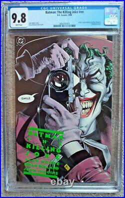 Batman The Killing Joke / 1st Print / CGC 9.8 NM-Mint / White Pages