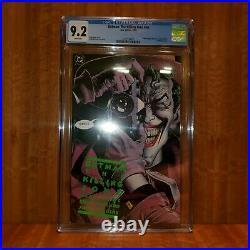 Batman The Killing Joke CGC 9.2 1st Print Graded (White Pages) DC Comics 1988