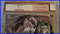 Batman The Killing Joke CGC 9.9 White Pages Original CGC Red Label