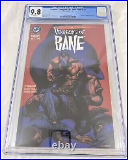 Batman Vengeance Of Bane Special #1 CGC 9.8 White Pages (1st Appearance Bane)