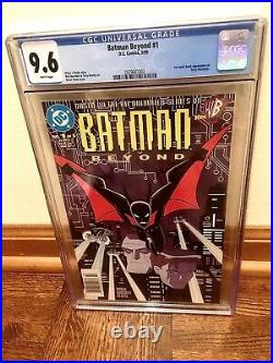 Batman beyond 1 cgc 9.6 White NEWSSTAND 1st Terry McGinnis In Comics
