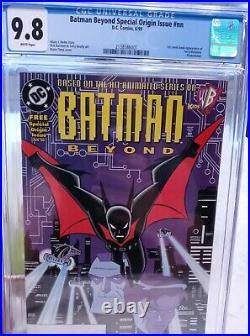 Batman beyond 1 special origin 9.8 White Pages