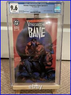Batman vengeance of bane 1 CGC 9.6 White