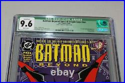 CGC 9.6 White Pages Batman Beyond Special Origin Issue #1 1st App Terry McGinnis