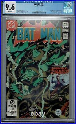 Cgc 9.6 Batman #357 1st Full Appearance Jason Todd & Killer Croc 1983 White Pgs