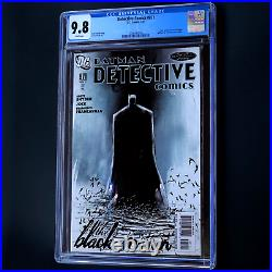 DETECTIVE COMICS #871 CGC 9.8 WHITE PGs SCARCE Scott Snyder Batman DC 2011