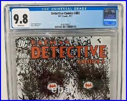DETECTIVE COMICS #880 CGC 9.8 WHITE Scott Snyder Batman & Jock Cover