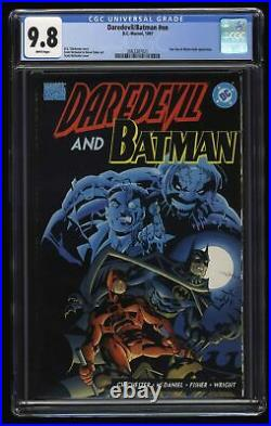Daredevil/Batman #nn CGC NM/M 9.8 White Pages