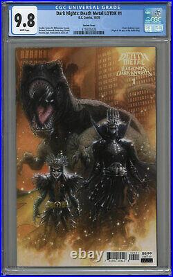 Dark Nights Death Metal Lotdk #1 Cgc 9.8 White Pages 2020