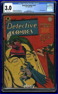 Detective Comics (1937) #139 CGC GD/VG 3.0 Off White