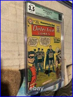 Detective Comics #225 CGC VG- 3.5 CGC Qualified Off White 1st Martian Manhunter