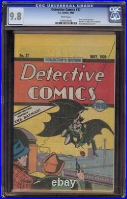 Detective Comics # 27 CGC 9.8 White (DC, 1984) Oreo Cookies Reprint
